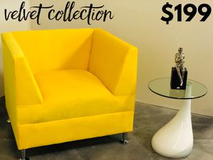 Velvet Collection Accent Chair - Also Available In Other Colors for Sale in Hialeah, FL
