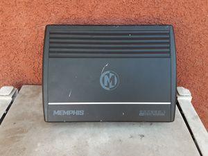 AMPLIFICADOR AMPLIFIER MEMPHIS 2 CHANELS GOOD CONDICIÓN ABLO ESPAÑOL for Sale in Stockton, CA