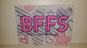 BFF poster for Sale in Cunningham, VA