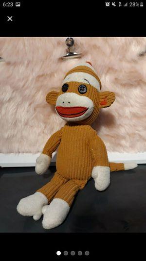 Ty Socks the sock monkey stuffed toy for Sale in Pomona, CA