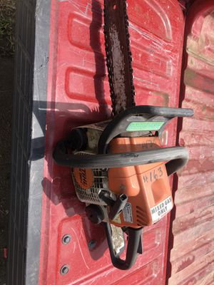 STIHL ms 180c 14 inch chainsaw. for Sale in Riverside, CA