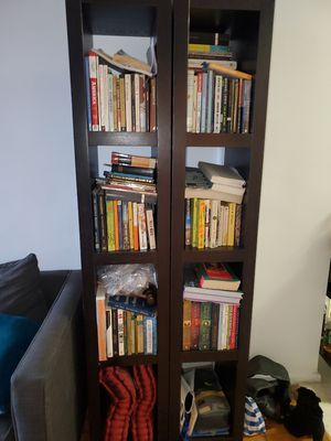 Brown book shelves for Sale in Brooklyn, NY