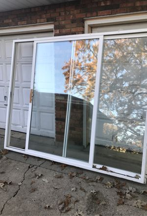 96x80 sliding glass door 8ft for Sale in Waukegan, IL