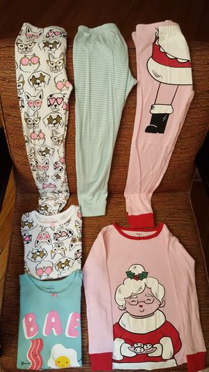 Lot of 6pc Carter's Girl's Pajama set for Sale in Dallas, TX