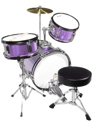 Kids drum set purple for Sale in Huntington Beach, CA