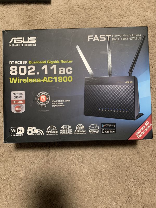 ASUS AC1900 Dual Band Router