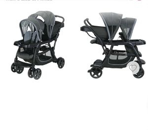 Graco baby stroller with items for Sale in Arlington, VA