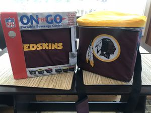 Two redskins portable on the go coolers for Sale in Fairfax Station, VA
