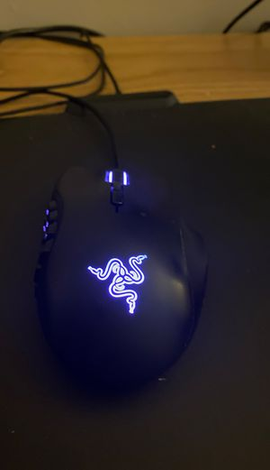 Razr Naga chroma 12 button mouse for Sale in Fort Meade, MD
