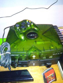 Jungle Green Halo Xbox Original for Sale in Houston, TX