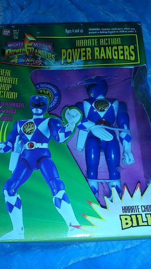 Mighty Morphin Power Ranger 1994 collectible toy figure for Sale in Morrisville, PA