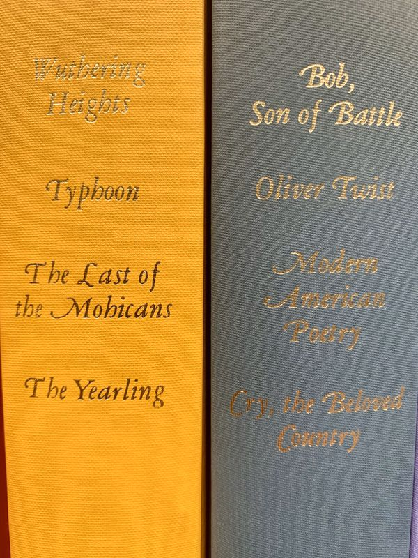 Beautiful Readers Digest Books with Classic Stories (1960s Vintage)