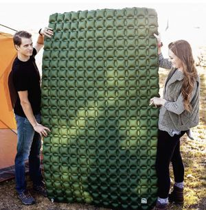 Double sleeping pad, air mattress, for camping, backpacking, and car for Sale in Ontario, CA