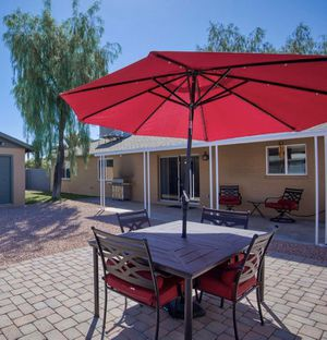 Patio furniture with 6 chairs for Sale in Tempe, AZ