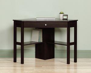Small Corner Computer Desk, Cinnamon Cherry for Sale in Downey, CA
