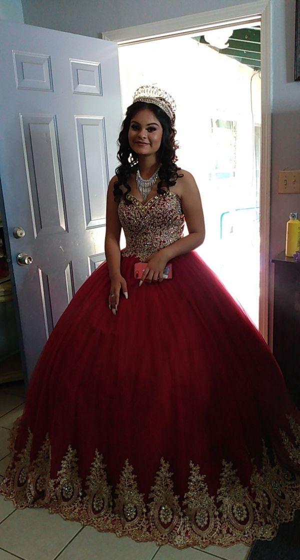 Dress elegant Quinceañera vestido de 15 años