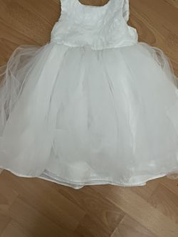 White Flower Dress For Kids for Sale in San Jose,  CA