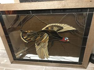 Antique Stain glass Turkey for Sale in Dickinson, TX