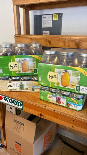 Ball and Kerr mason jars and canning kit for Sale in Brush Prairie, WA