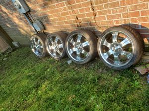 20 in 5 lug rims for Sale in Ladson, SC