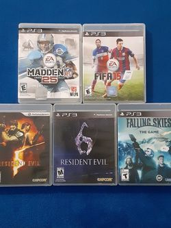 PS3 GAMES for Sale in Lakeland,  FL