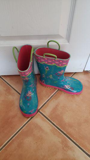 Mermaid Rain boots size 12 for Sale in Miami, FL