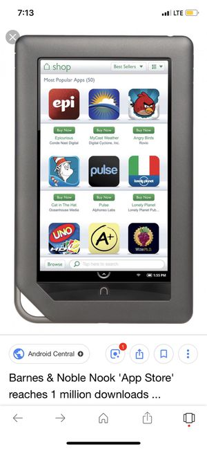 Barnes and noble nook tablet for Sale in Prattville, AL