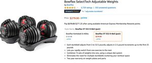 Bowflex adjustable weights for Sale in Brookline, MA
