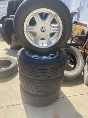 4 tires with rims 225/60R15 for Sale in Plano, IL