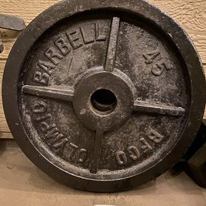 Olympic 45lb Plates for Sale in Corona, CA