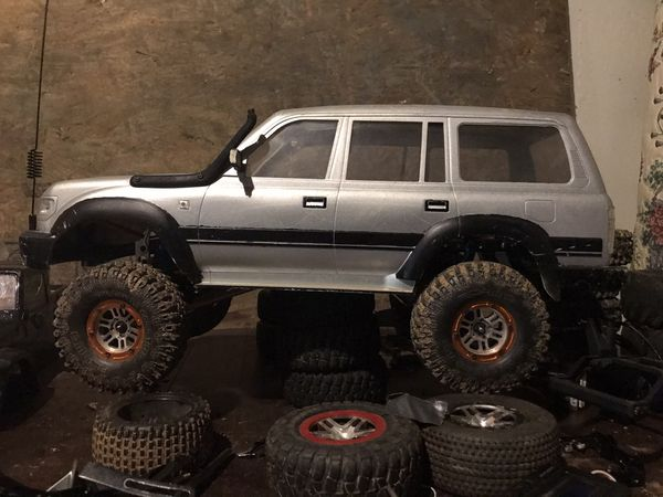 Axial scx10 upgraded