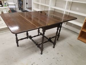 Antique wooden table for Sale in Fairfax, VA
