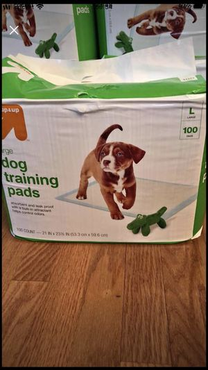 Dog training pads. Size L. for Sale in Cary, NC