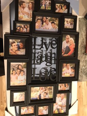 Picture collage frame for Sale in Ledyard, CT