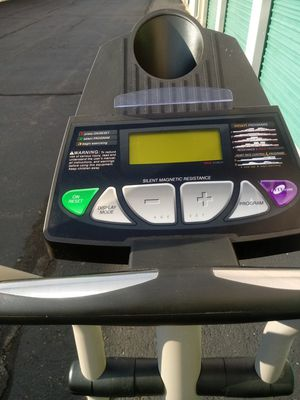 ProForm elliptical stepper excellent condition tracks your progress calories distance speed time heart rate pulse folds for easy transport Del. Poss. for Sale in Philadelphia, PA
