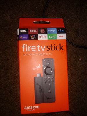 Fire TV stick with Alexa voice remote. for Sale in Washington, DC