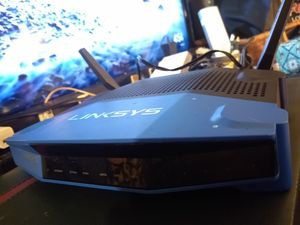 Linksys WRT 1200 AC Wireless Router - 1.3 GBPS - 2.4 ghz / 5 ghz Dual Band Gigabit 802.11ac plus b/a/g/n/ac for Sale in Portland, OR