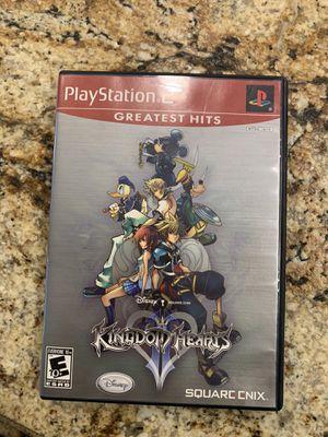 Kingdom hearts ps2 for Sale in Arlington, TX