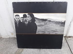 U2 the jushua tree vinyl record lp for Sale in Ephrata, PA