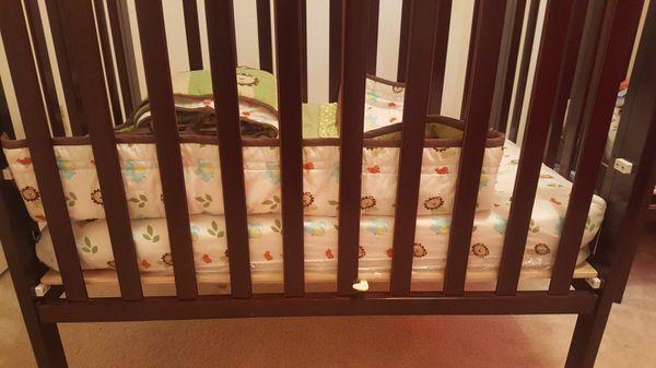 Dream on Me Crib and Mattress