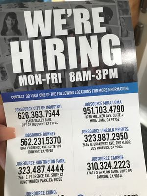Jobs for Sale in Rowland Heights, CA