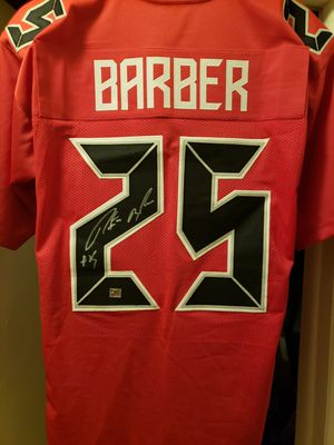 Payton Barber Signed Buccaneers Jersey COA for Sale in Palm Harbor, FL