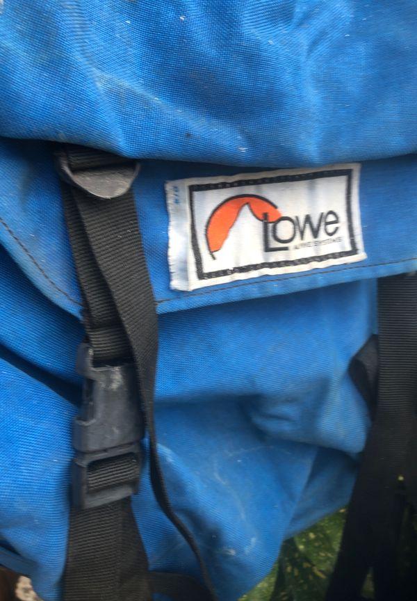 LOWE Backpack w/internal frame $10