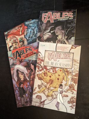 Fables Comic Book graphic novels 1 2 3 4 and 5 for Sale in Las Vegas, NV