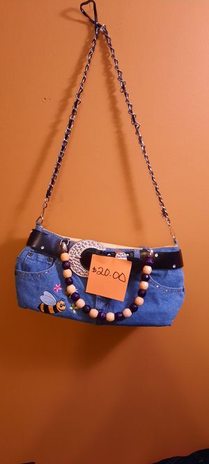 Blue Jean Hand Bag for Sale in Riverdale, GA