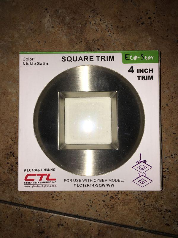 """Square Trim 4"""""""