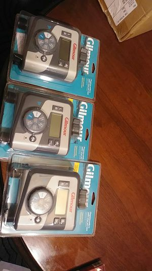 Gilmour dual outlet sprinkler timers for Sale in Amelia, OH