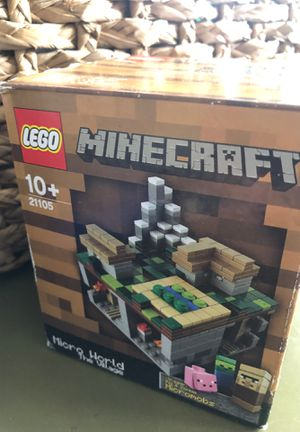LEGO Minecraft Micro World The Village - Unopened for Sale in Mooresville, NC