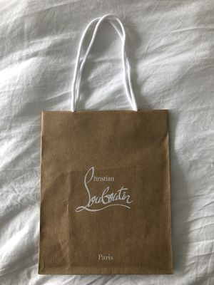 Authentic Christian Louboutin shopping bag for Sale in New York, NY