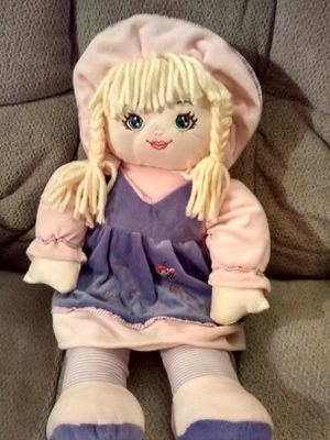 SOFT DOLL & COMFORT TOY FOR TODDLER for Sale in Marietta, GA